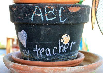 custom flower pot